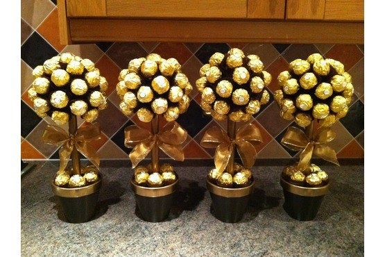 Totally getting these when i have a wedding! lol I LOVE Fererro rocher!
