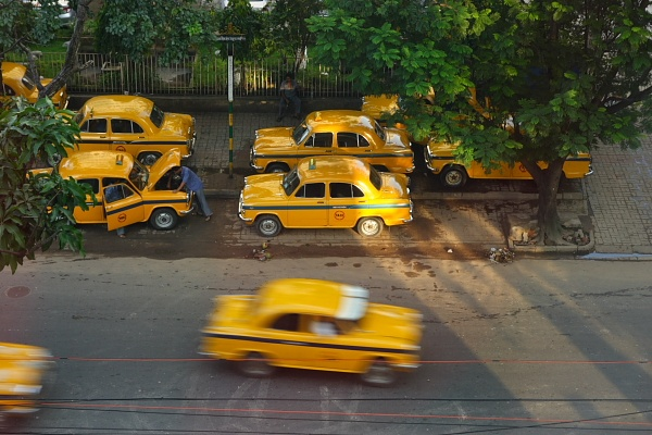 Taxi of Kolkata India