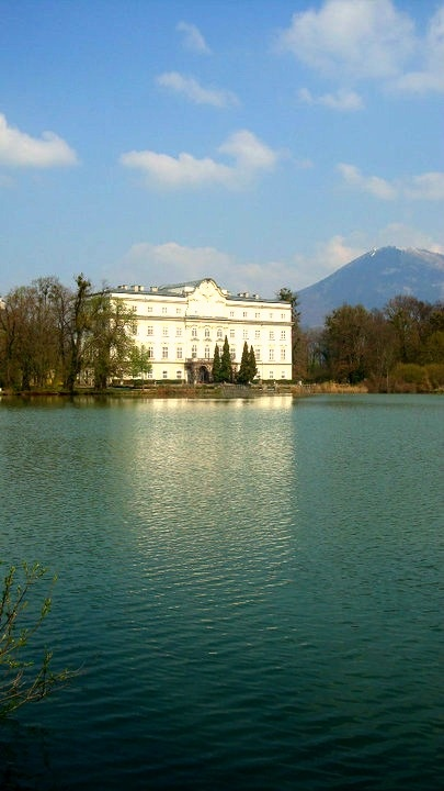 The Von Trapp House  from the Sound of Music; Salzburg, Austria