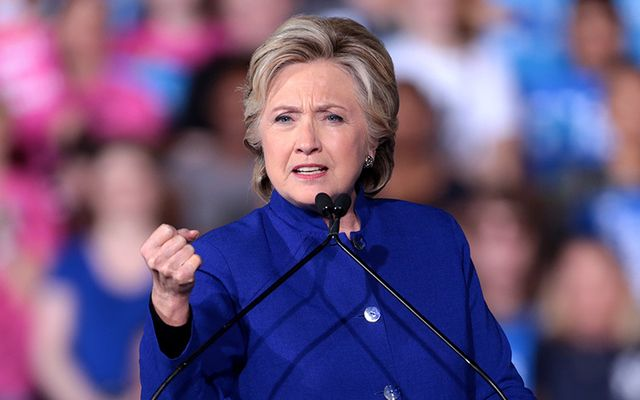 Former US Secretary of State Hillary Clinton. http://www.contacthillaryclinton.com/