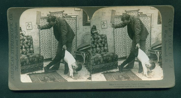 Vintage Stereograph Old School Education Picture 1900 | eBay