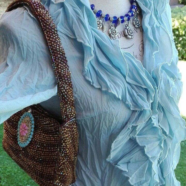 Camicia camicetta Boho style woman chic