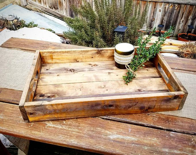Large Rustic Wood Smores Bar Station Smores S Mores Bar Party Station Wedding S Mores Roasting Station Dessert Bar Wood Ottoman Wood Pallets Rustic Serving Trays