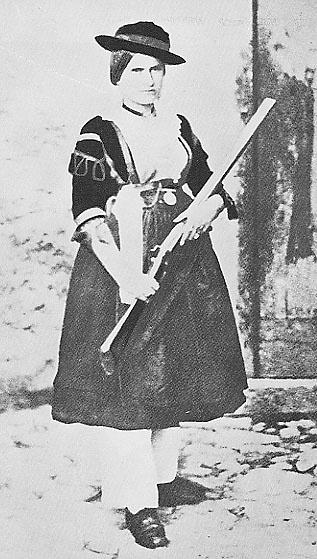Maria Lucia Nella - Compagna di Ninco Nanco