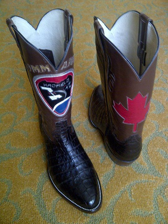 Chris Hadfield To Wear Custom Cowboy Boots as the Calgary Stampede Parade Marshal