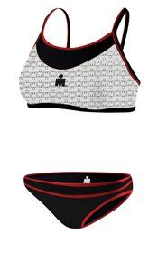 TYR SPORT Women's Ironman Female Thin Strap Reversible 2Pc Bikini