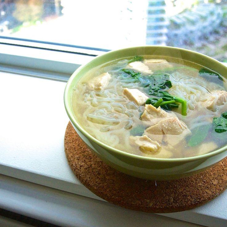 Chicken Noodle Soup #soup