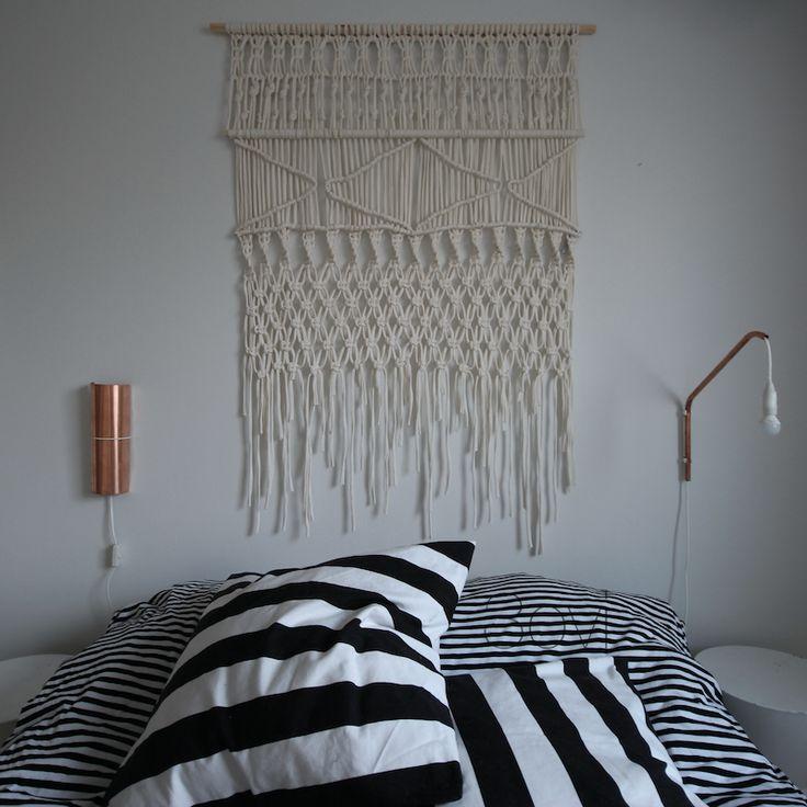 3ovi: uneven bedside lamps diy