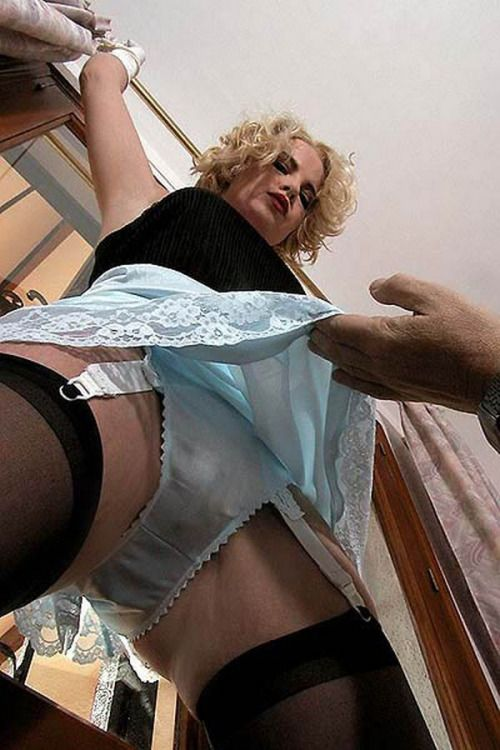 upskirt panties slips stockings