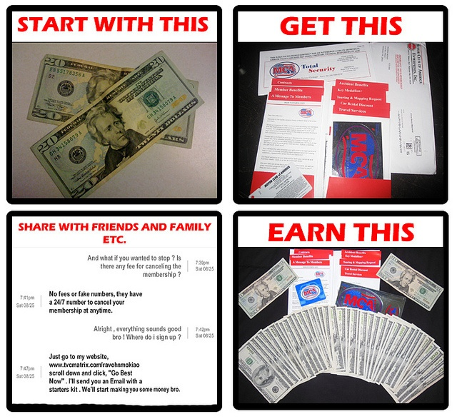 76 best images about motor club of america mca tvc matrix for Motor club company scam