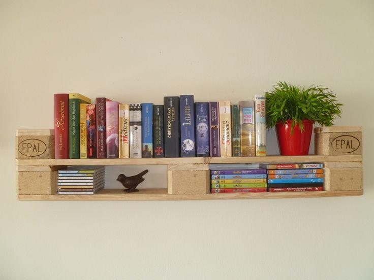 Bücherregal+aus+Euro+Paletten+*++Unikat+*+von+Palettano+auf+DaWanda.com