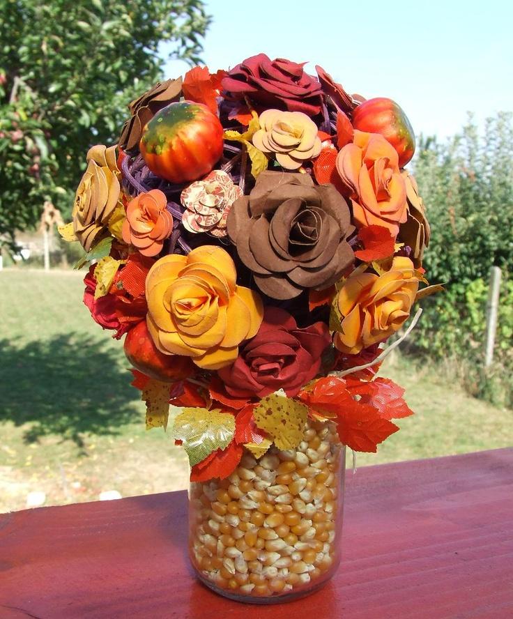 handmade roses...