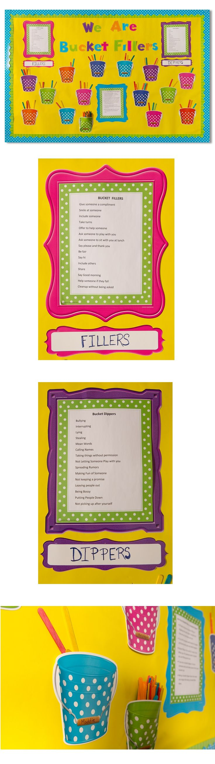 Have you used Bucket Fillers in your classroom? They encourage positive behavior and help students learn to be respectful and kind.