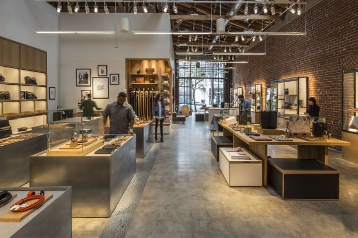 Shinola store by little los angeles california wp for Interior design los angeles