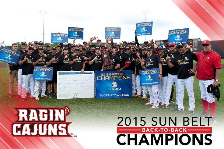 2015 Baseball Sun Belt Champs