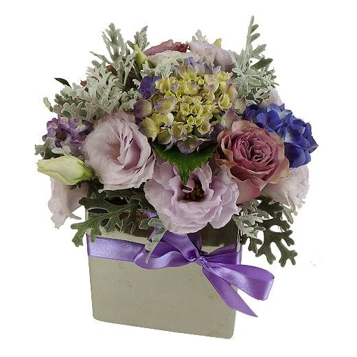 Lovely Lilac Arrangement - Auckland Delivery - Bestow Gifts + Flowers