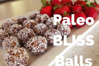 Paleo BLISS Balls