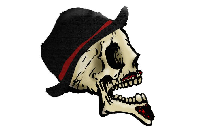 1700 Sr. Skull  by @yeyocoreart #yeyocoreart #ilustration #skull #art #terror