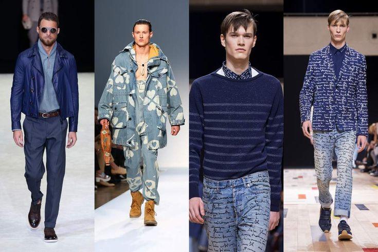 Men: Shades of blue