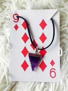Amethyst Spear Head Necklace   eBay