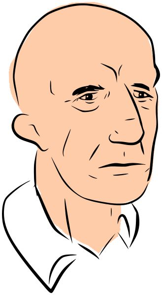Image for Middle Aged Bald Guy People Clip Art