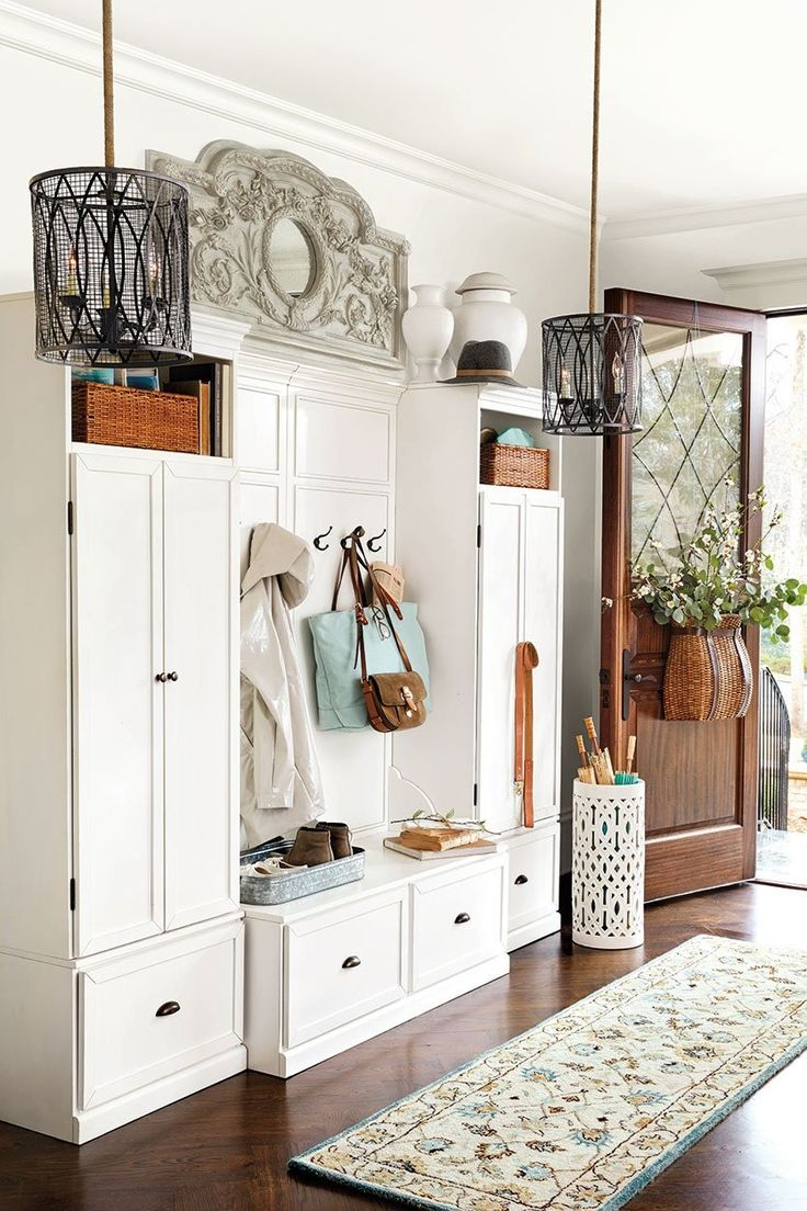 Beautiful Entryway Cabinet with Doors