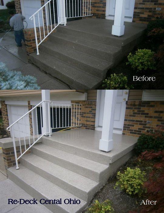 Decorative Concrete Resurfacing Contractors Columbus