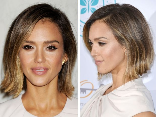 This choppy chin-grazing cut is being seen all over the celebrity circuit this spring