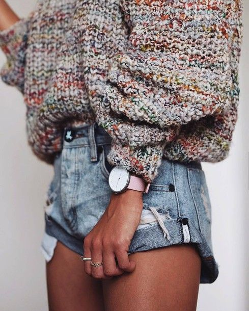 Sweater: tumblr printed oversized oversized watch pink ring jewels jewelry accessories accessory