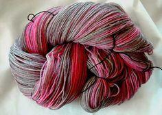 Wolle färben in der Wickelfärbung - Anleitung von Tumana