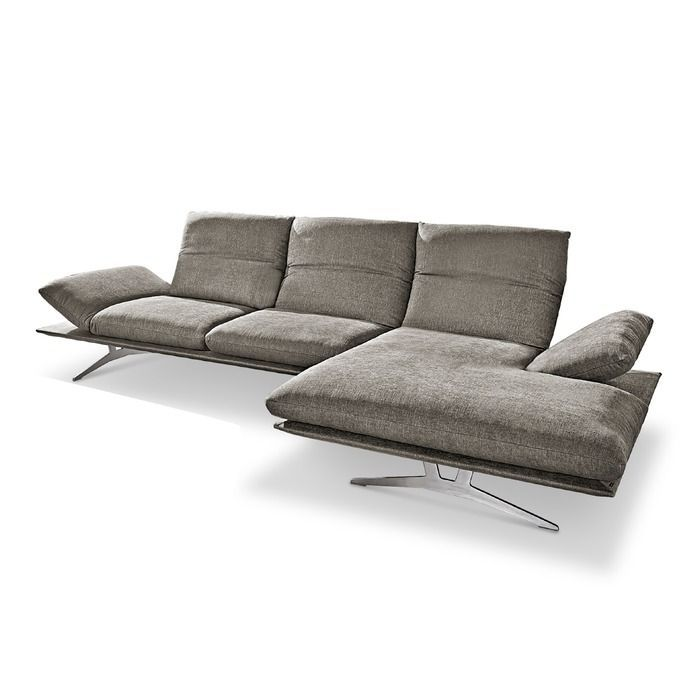 Koinor Ecksofa Francis 284 Cm Grau Stoff In 2020 Corner Sofa Sofa Grey Fabric