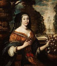 Madeleine de Scudéry - The first bluestocking of France - and devised the Map of Tenderness
