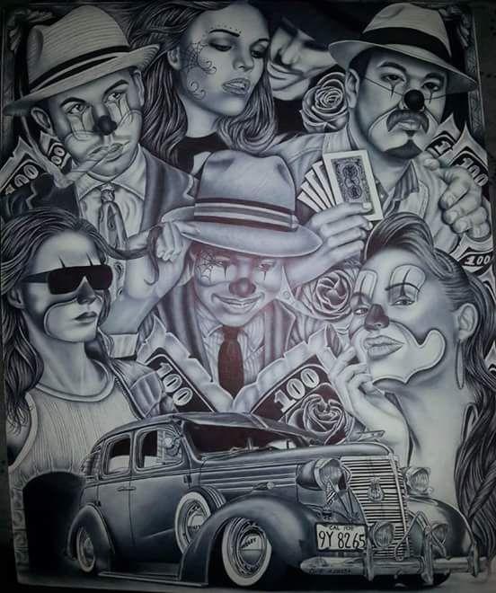 Gang.....California..