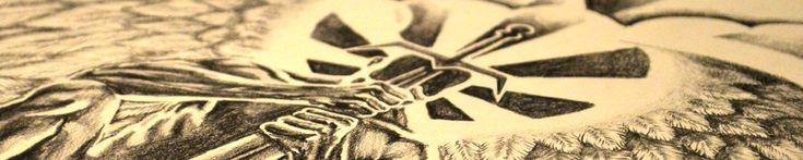 Guardian Angel Tattoo Design from Dark Design Graphics
