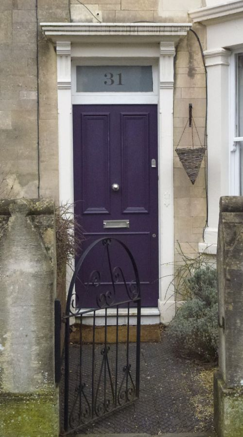 25 Best Ideas About Purple Front Doors On Pinterest