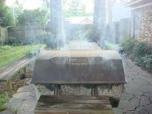 BBQ brisket on a gas grill recipe