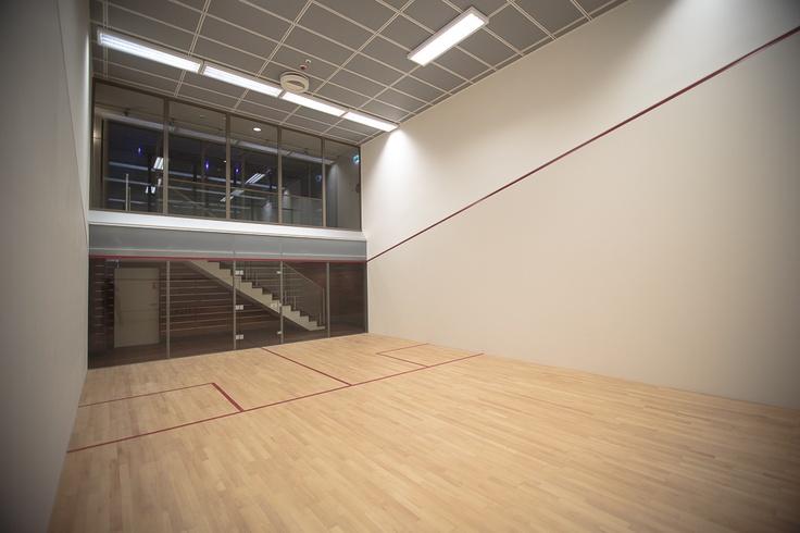 #squash court  @ #Foksal Residence