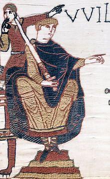 Tapisserie de Bayeux : 1064, le duc Guillaume - Elle renseigne sur les vêtements, les châteaux, les navires et les conditions de vie de cette époque. A ce titre elle constitue un des rares exemples de l'art roman profane. Conservée jusqu'à la fin du 18°s dans la collection de la cathédrale de Bayeux, elle est au 21°s présentée au public au centre Guillaume le Conquérant qui lui est entièrement dédié. La tapisserie est inscrite depuis 2007 à l'UNESCO