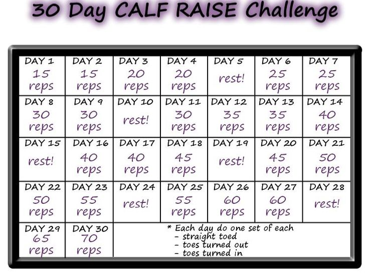 Real College Student of Atlanta: November Calf Raise Challenge {fitness}