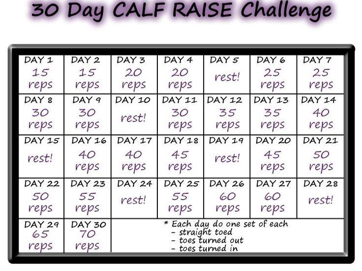 Real College Student of Atlanta: November Calf Raise Challenge {fitness}