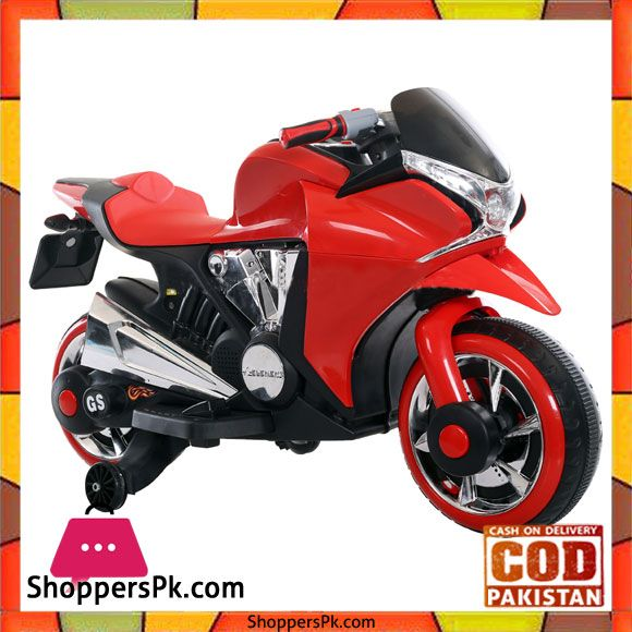 Buy Kids Ride On Super Bike 6v For Kids 2 7 Years Zt 1800 At Best
