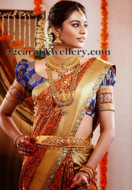 Jewellery Designs: Traditional South Indian Gold Ad