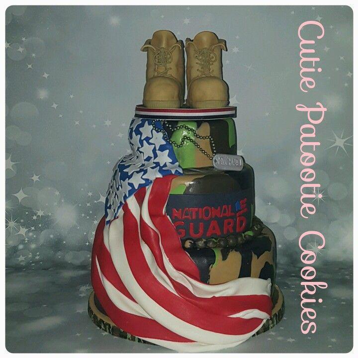 Army National Guard Cake Cutiepatootiecookies In 2019