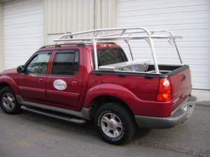 Ford Sport Trac Ladder Rack - RyderRacks