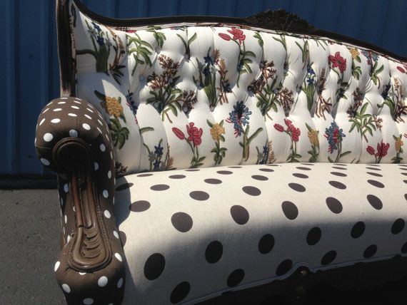 Vinage sofa by BlueChairUpholstery