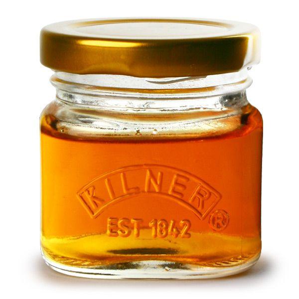 Kilner Jar Shot Glasses with Lids 1.9oz / 55ml - Shaped like cute miniature jam jars, the Kilner branded Jar Shot Glasses with Lids are a novel way to serve shots of spirits or liqueurs, or to serve condiments.