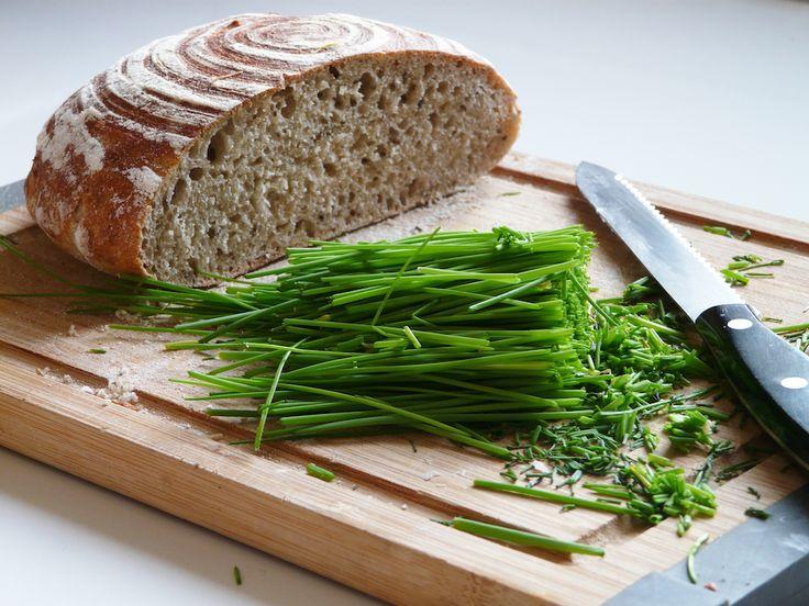 Český kváskový chléb   recept na kvásek