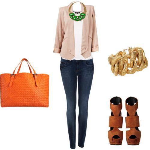 outfit casual pero elegante