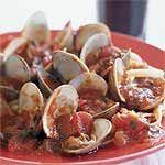 Fettuccine with Clams and Tomato Sauce Recipe | MyRecipes.com