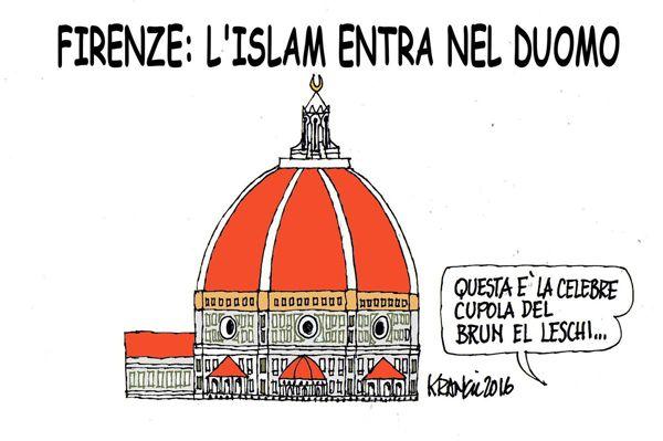Firenze: il corano entra in chiesa...
